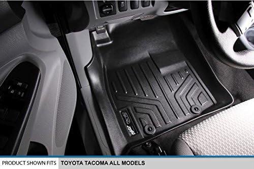 Black 2005-2011 1st Row Set MAXLINER A0033 Floor Mats for Toyota Tacoma All Models