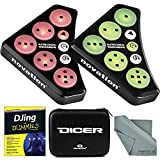 Novation Dicer Cue Point & Looping DJ Controller and Accessory Bundle W/ Djing For Dummies + Carry Case + Fibertique Cloth