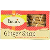 Lucy's Gluten Free Cookies Ginger Snap -- 5.5 oz (Pack of 6)