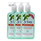 ST. Ives Clear Pore Cleanser Purifying Face Wash With Tea Tree Oil(200ml) (Pack of 3)