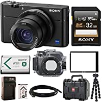 Sony DSCRX100M5 Cyber-shot (Camera + Underwater Housing Bundle)