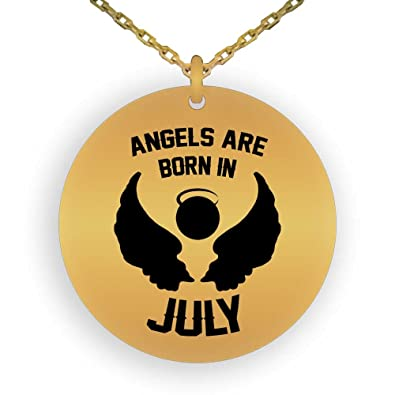 Amazon HOM Birthday Gifts 18K Gold Plated Pendant Necklace