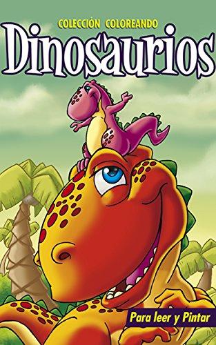 Dinosaurios I Libros Para Colorear Pintar Y Jugar Coleccion