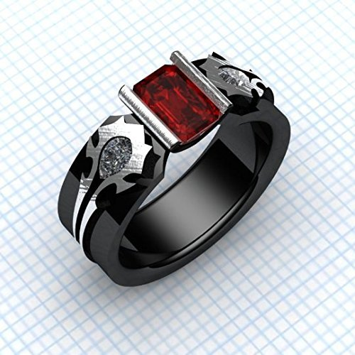 Amazon Com Horde My Love Gamer Ring Steampunk Wow Ring Gents