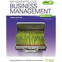 Key Concepts in VCE Business Management Units 3&4 3E & eBookPLUS
