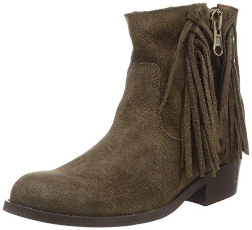 Wrangler Pampa Fringes, Zapatillas de Estar por Casa para Mujer Marrón - Braun (29 Taupe)