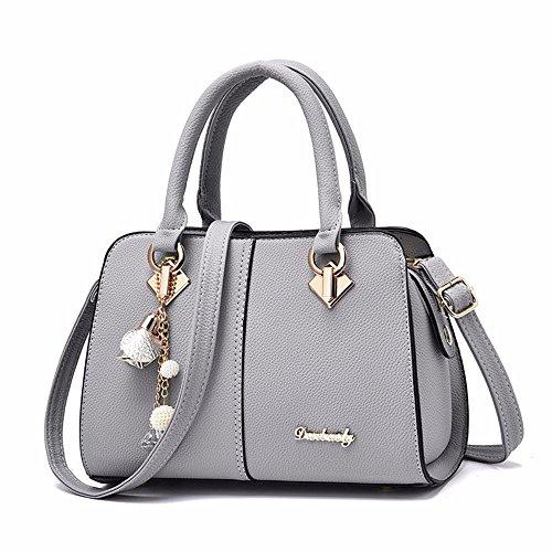 Ladies Bag Tote Gray Womens Shoulder Designer Purses Satchel and Handbags Bags gUaUq