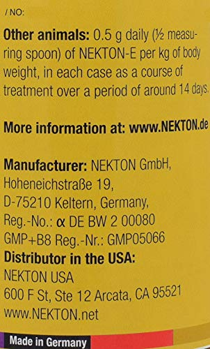 Nekton-E Vitamin E Supplement for Birds