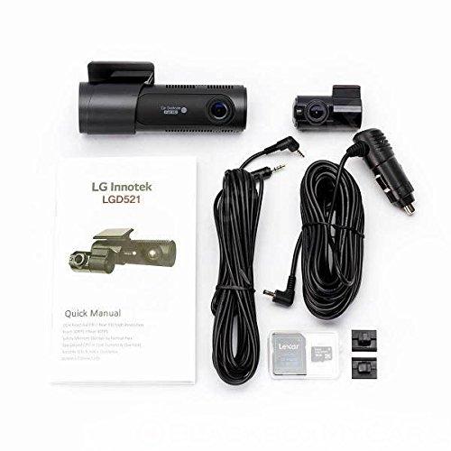 amazon com lg innotek 2 channel full hd front rear 1080p dashcam LG Mini Split AC Systems at Lg 3 Wire Harness Mini Sit