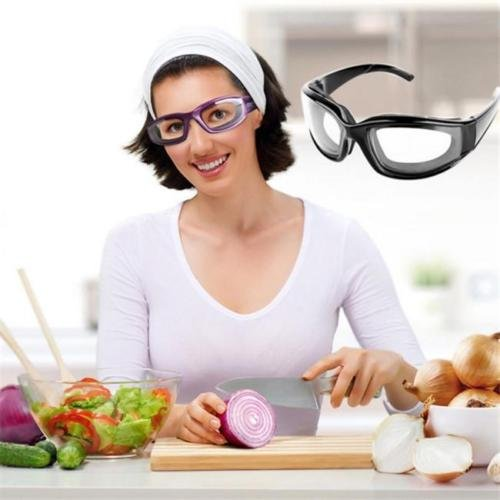OLIVE US-Onion Goggles Eye Glasses Onions Chopping Tears Free Protector Kitchen Tool - Goggles For You Coupon