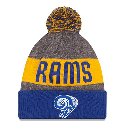 Los Angeles Rams Blue Classic Fan Hat Knit Beanie Jersey Sweatshirt Hoodie T-Shirt Flag Apparel by New Era