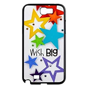 Beautiful stars Brand New Cover Case with Hard Shell Protection for Samsung Galaxy Note 2 N7100 Case lxa#466131