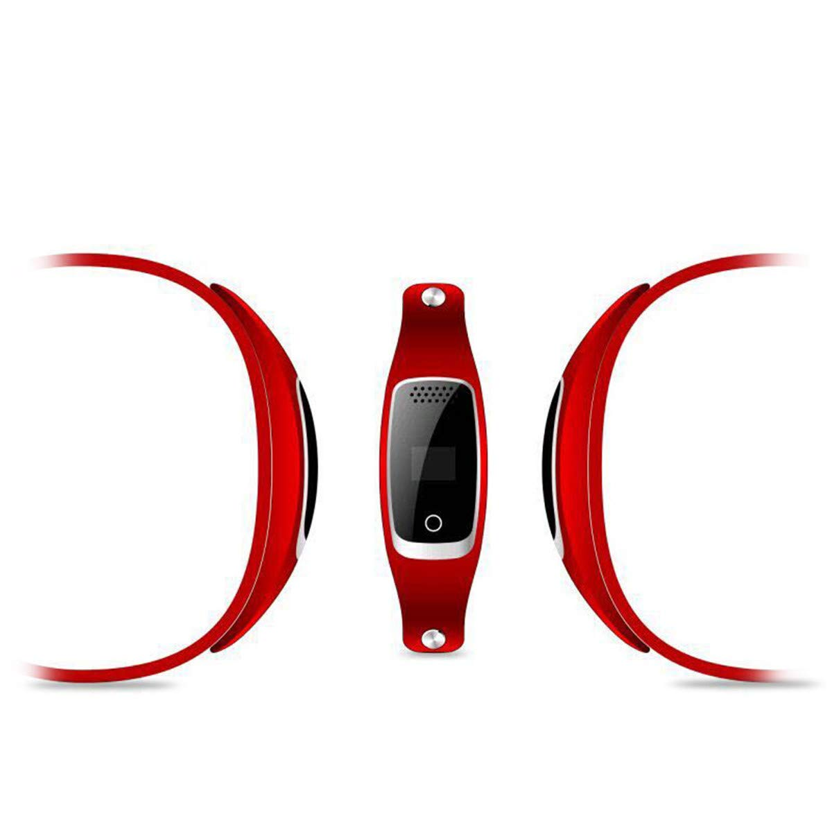 Pet Tracker Free of Monthly Fees - GPS Tracking Collar for Dogs and Cats & Pet Activity Monitor,Red by CHANMI