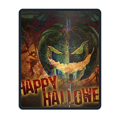 Holiday Halloween Happy Mouse Pad Rectangle Non-Slip Rubber Mousepad Custom -