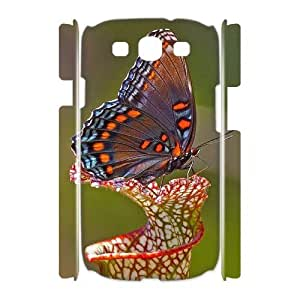 Butterfly Custom 3D Cover Case for Samsung Galaxy S3 I9300,diy phone case ygtg523896