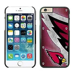 NFL iPhone 6 Plus 5.5 Inches Case Arizona Cardinals Black iPhone 6 Plus Cell Phone Case ONXTWKHB0029