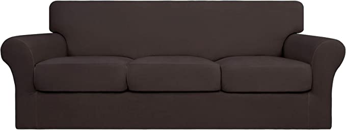 Washable Sofa Slipcover with 3 Separate Cushion