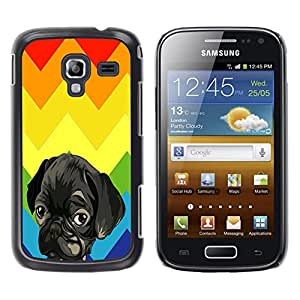 - Ferris Wheel - - Hard Plastic Protective Aluminum Back Case Skin Cover FOR Samsung GALAXY Ace 2 I8160 Queen Pattern
