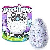 Hatchimals Hatching Egg Interactive Creature Burtle Baby Toy, Purple/Teal