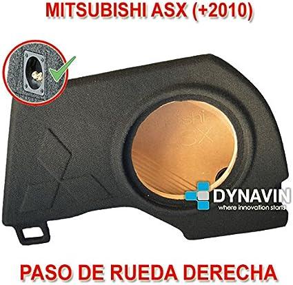 Dynavin Mitsubishi ASX (+2010). Rueda Derecha - Caja ACUSTICA para ...