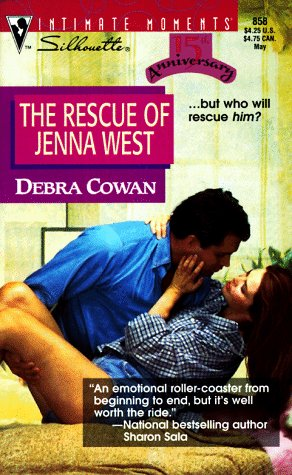 book cover of The Rescue of Jenna West