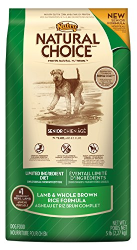 NATURAL CHOICE Limited Ingredient Diet Senior Lamb and Whole Brown Rice Formula - 5 lbs. (2.27 kg)