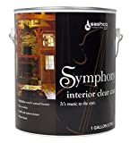 Sashco SYM-1-SA Satin Symphony Interior Clear Coat, 1 gal Can