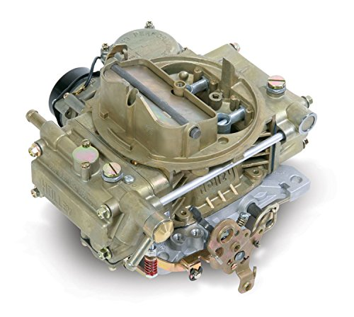 Holley 0-80450 600 CFM Square Four Barrel Vacuum Secondary Electric Choke Street Carburetor