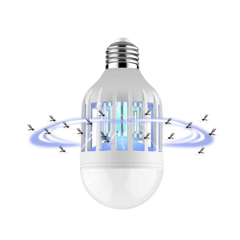 3Pack 2 in 1 Mosquito Killer Lamp LED Bulb 12W Pest Control Light Bulb for Home Bedroom,3Pack