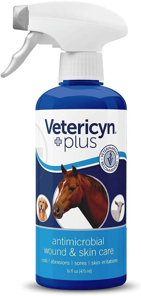 Vetericyn Spray líquido para heridas y Cuidado de la Piel Wound and Skincare – 473 ml