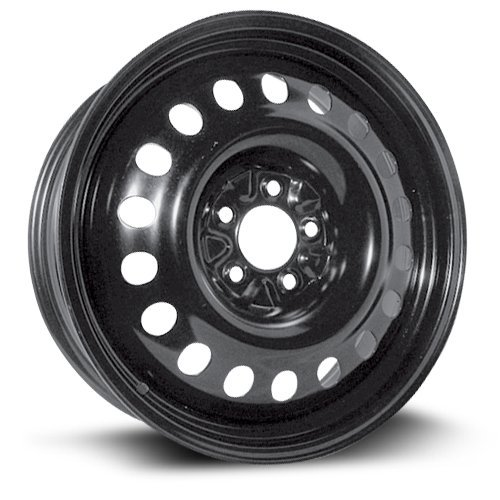 RTX, Steel Rim, New Aftermarket Wheel, 18X7, 5X114.3, 71.5, 40, black finish X48827