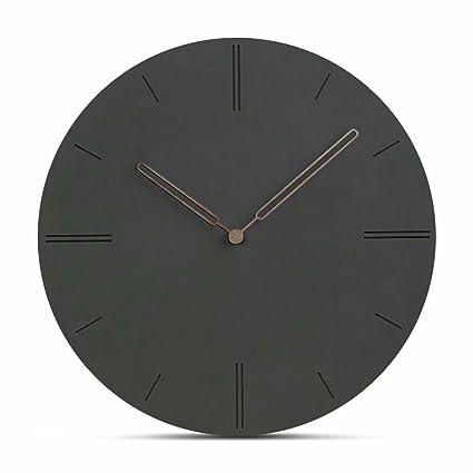 Jpettie Black Large Wall Clocks, 12\