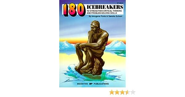 problem solving ice breakers