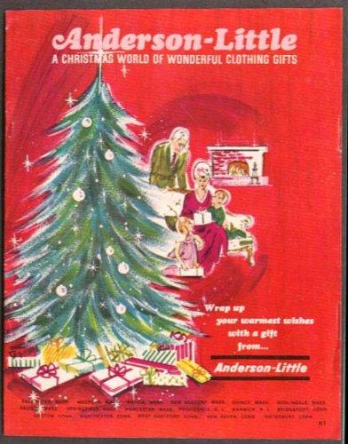 (Anderson-Little Men's & Women's Wear Xmas catalog 60s)