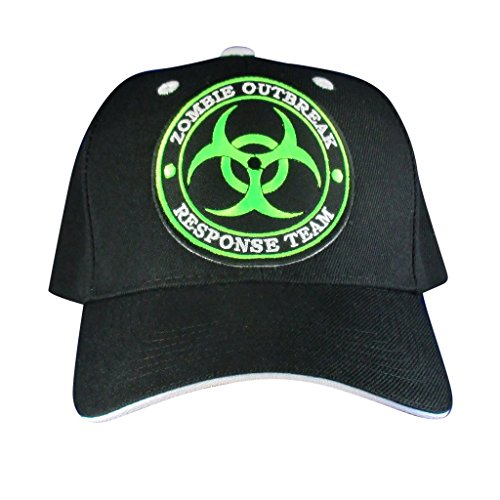 AffinityAddOns Zombie Outbreak Hat - Embroidered Patch Baseball Cap