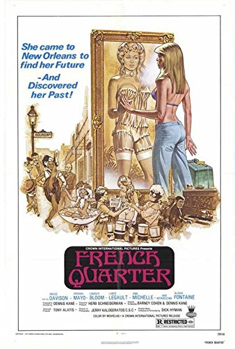 French Quarter Poster Bruce Davison Virginia Mayo Lindsay Bloom