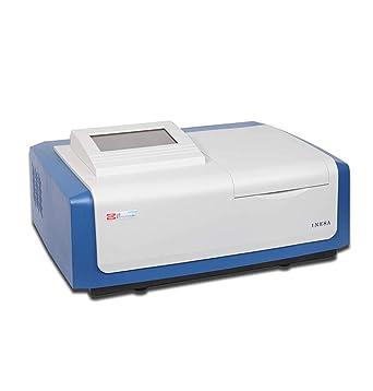 CGOLDENWALL UV-Vis Espectrofotómetro L6S Medidor de Luz de Laboratorio con Función de Escaneo Plotter Térmico ...