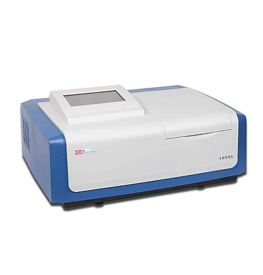 CGOLDENWALL UV-Vis Espectrofotómetro L6S Medidor de Luz de Laboratorio con Función de Escaneo Plotter Térmico Interfaz USB Rango de Longitud de Onda: 190 ~ 1100nm / Ancho de Banda: 2nm: Amazon.es: Industria,