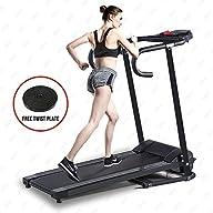 Fitnessclub 500W Folding Electric Motorized Treadmill Portable Running Gym Fitness Machine