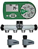 2 Pack - Orbit Automatic Yard Watering System for Water Hose Faucet
