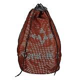Aobiny Backpack Couple Monochrome Oxfords Backpack Straps Pockets (ORange)