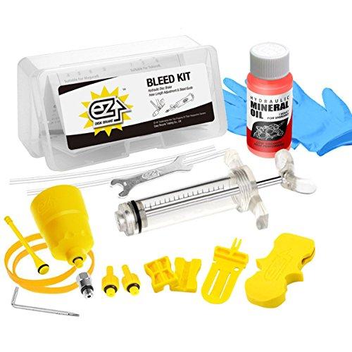 Revmega Bleeder Hydraulic Disc Brake Bleed Kit Tool for Shimano - Inc. 50ml Mineral Oil Fluid