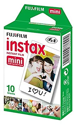 5 X Fujifilm Instax Mini Film Single Pack 10 sheets per Pack