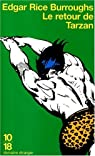 Le retour de Tarzan par Burroughs