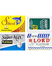 Ostrza do golenia Derby, Shark, Supermax, Lord