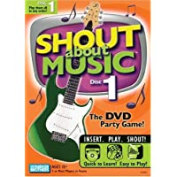 Hasbro Games Shout About Music Disc 1