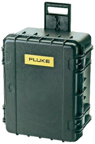 Fluke C437-II Hard Carrying Case with Rollers, For Power Quality and Energy Analyzer by Fluke Corporation by Fluke Corporation