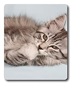 best hard mousepad Cat Id05 PC Custom Mouse Pads / Mouse Mats Case Cover