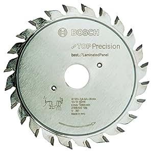Bosch 2 608 642 129  - Hoja de rayado previo Top Precision Laminated Panel - 120 x 20 x 2,8-3,6 mm, 12+12 (pack de 1)