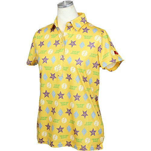 フィッチェゴルフ FICCE GOLF 半袖シャツ?ポロシャツ 半袖ポロシャツ レディス イエロー S